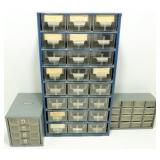 * 3 Storage Hardware Sorters with Drawers