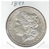 1897 Morgan Silver Dollar