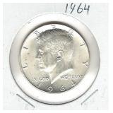 1964 Kennedy Silver Half Dollar