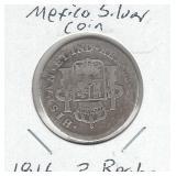Mexico Silver Coin 1816 - 2 Reales
