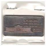 Oklahoma Commemorative 1 oz .999 Fine Silver Bar