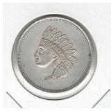 1 oz .999 Silver Liberty Head Coin