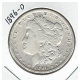 1896-O Morgan Silver Dollar