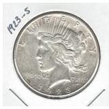 1923-S Peace Silver Dollar