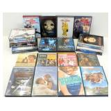 Variety of 25 DVDs - Clean, Nice, Verified.