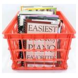 * Giant Lot of Piano Music Books - Good Variety