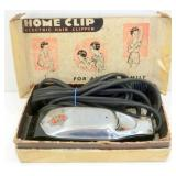 Vintage Home Clip Electric Hair Clipper - Tested,
