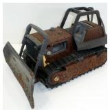 * Tonka Bulldozer with Major Paint Loss - Tracks