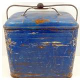 * Vintage Cooler - Galvanized Interior, has Drain