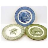 """* Decorative Plates: 1 Currier & Ives """"The Old"""