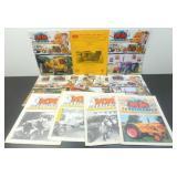 Minneapolis-Moline Magazines - 13 Total, 1980
