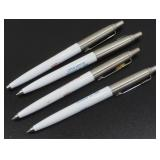 Four Parker Open House Pens - 100 Years, August