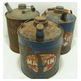 * Topps Fly Spray Can and 2 Martin Cans