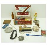 Cigar Box Junk Drawer - Misc.