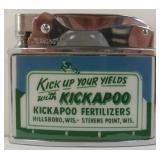 Vintage Never Used Lansing Advertising Lighter -