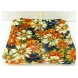 MCM Style Flowered Serving Tray