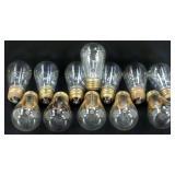 * 12 Vintage Mazda Style Edison Bulbs - Tested,