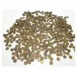 575+ Lincoln Wheat Cents
