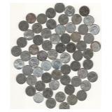 65 U.S. Steel Wheat Cents