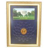 Presidential Dollar Holder Frame