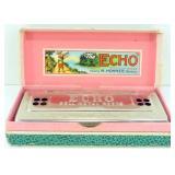 "Hohner ""The Echo"" CG Harmonica w/ Box"