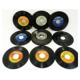 (15) 45 RPM Records - The Beach Boys, Chicago,