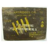 * WW2 Wooden Ammo Crate