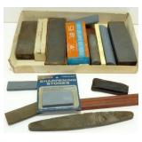 * Group of Sharpening Stones