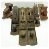 * 5 Wood Planes including 2 Stanley #7, 1 Stanley