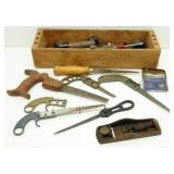 * Old Tools, Small Saws, Etc.