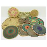 Large Lot of Traditional African Trivets