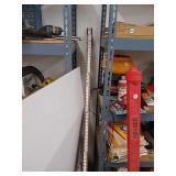 Collapsible surveyor leveling rod