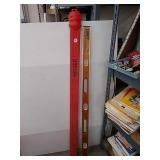 4 foot wooden level from exact level & tool Inc