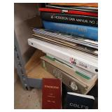 Selection of reloading manuals including