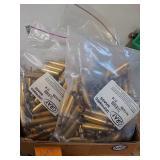 Large quantity of 7.5 x55 brass