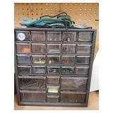 Organizing drawer set with large selection of gun