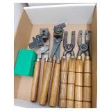 RCBS bullet moulds, handles for moulds