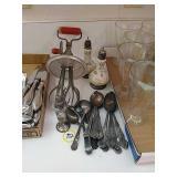 Sterling salt shaker, Sterling plated and enamel