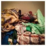 Vintage ladies scarves from various makers and