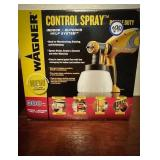 Wagner new in box control spray double duty