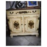 Heywood Wakefield cabinet with top drawer, two