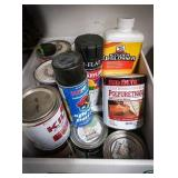 Large variety of quart paint and sealers used and
