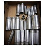 Snap-on deep sockets 19 in all