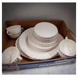 Spode Chelsea Wicker Copeland dish set including