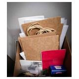 Gift bags, gift boxes, tissue paper and other
