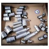 Selection of snap-on sockets and swivel snap-on
