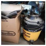 20 gallon shop vac on wheels with hoses and