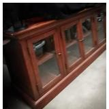 Beautiful wooden cabinet measuring 60 in by 20