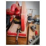 Milwaukee 14-inch abrasive cutoff machine in