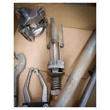 Brake hone cylinder, pipe cutter, snap-on puller